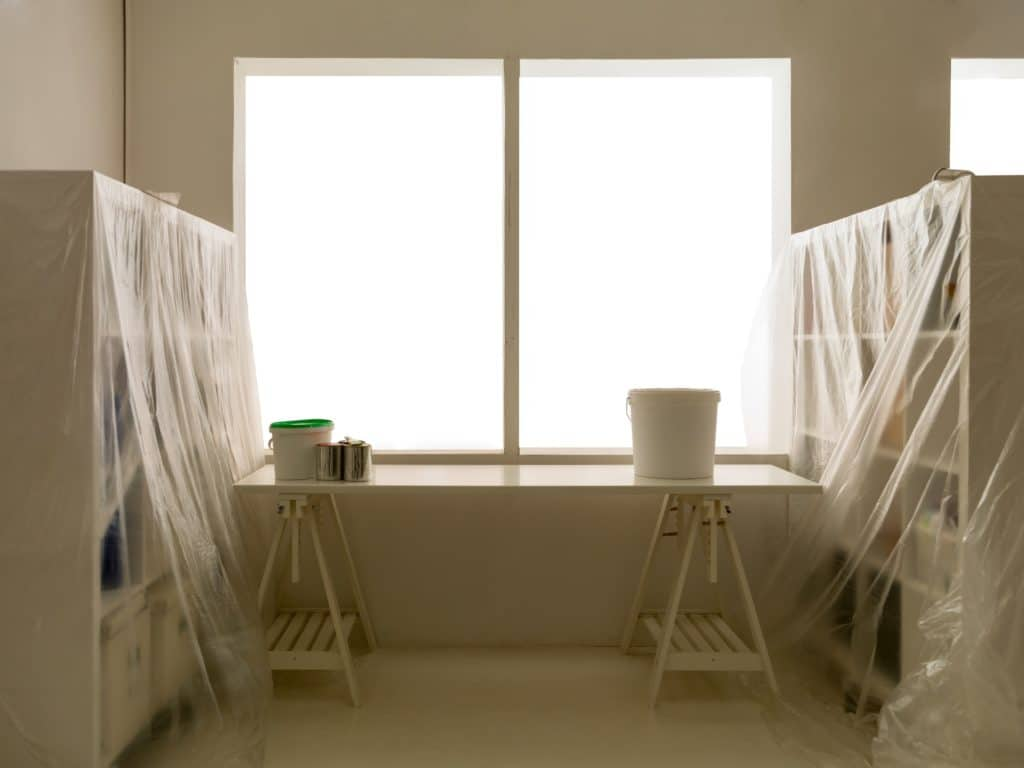 Plastic furniture covers